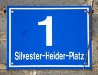 Straßenbenennung Silvester Heider Platz